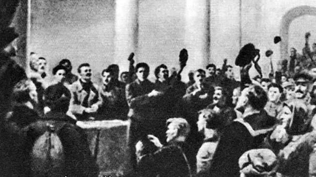 Провозглашение Украинской Народной Республики Советов на съезде в Харькове.
