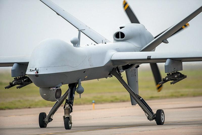MQ-9 Reaper оснащён турбовинтовой силовой установкой Honeywell TP331-10.