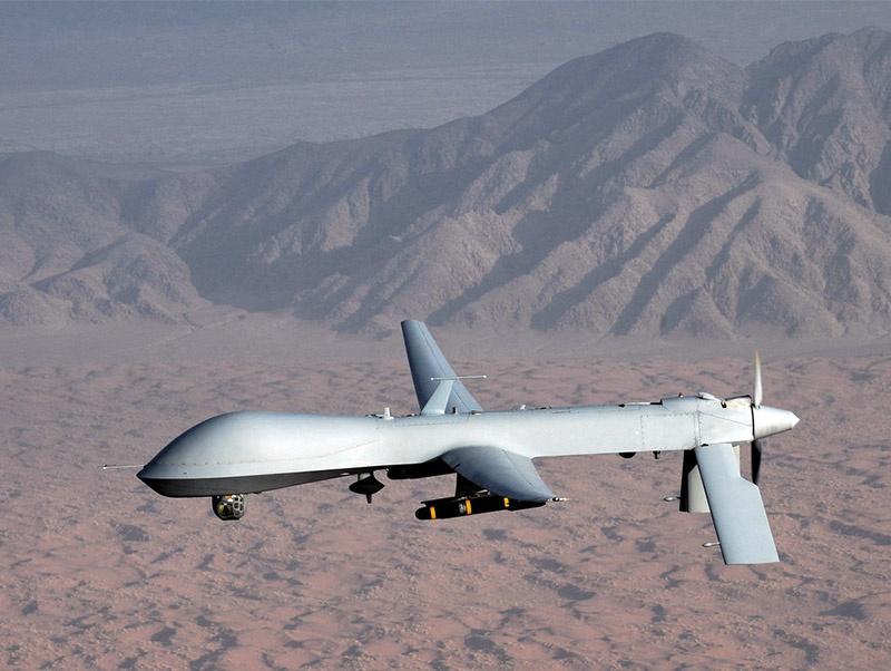 Многоцелевой дрон MQ-1 Predator.
