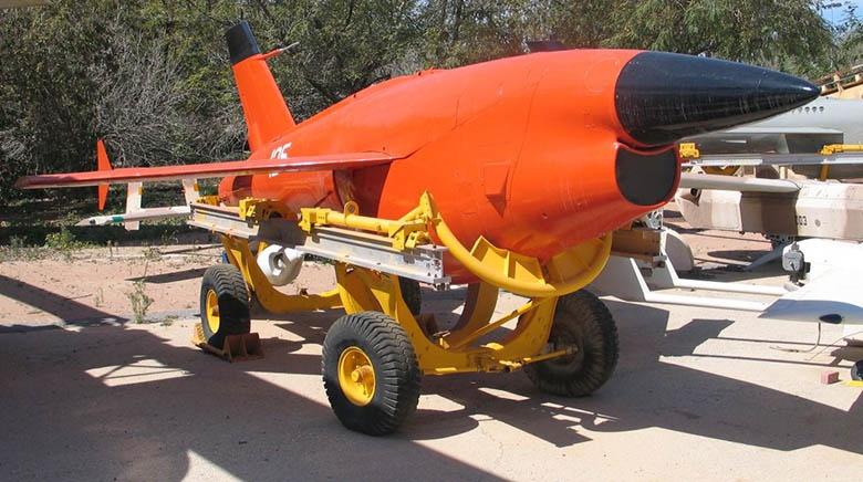 Радиоуправляемый дрон Firebee.