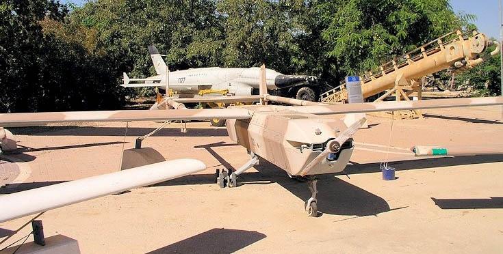 Израильский дрон Scout.