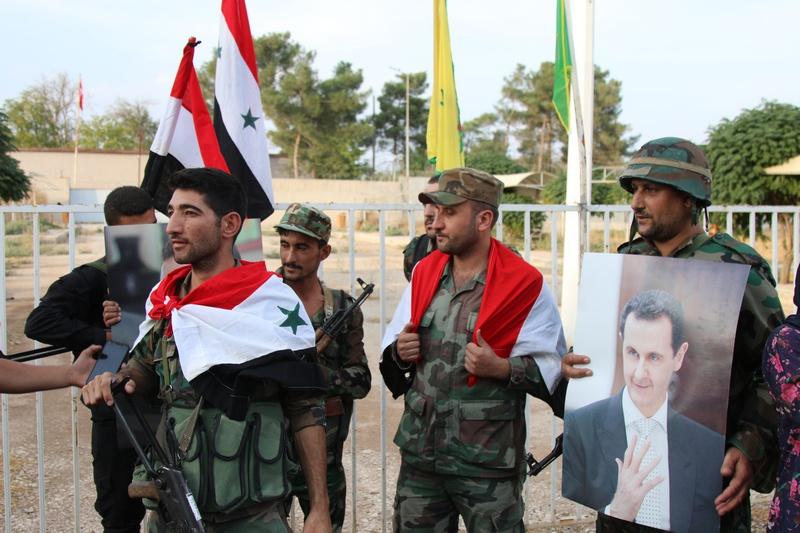 Сирийцы и курды официально подняли флаги на пограничном переходе на границе с Турцией, в городке Кобани.