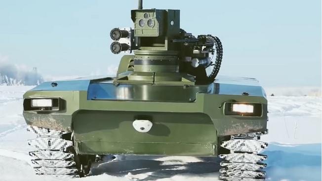 Роботы, лазеры и другие «гаджеты» военного назначения