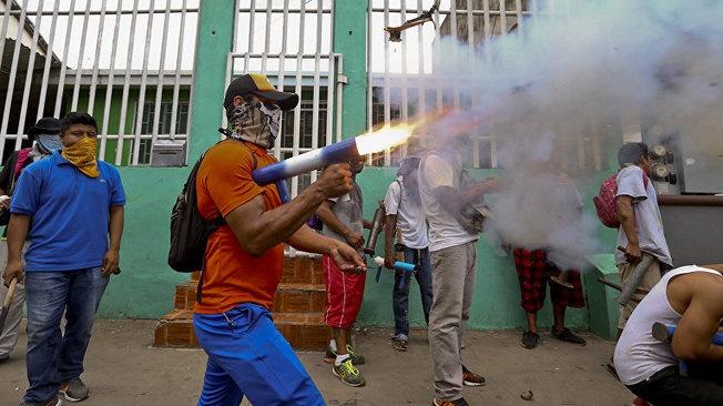 Никарагуанский майдан: made in USA