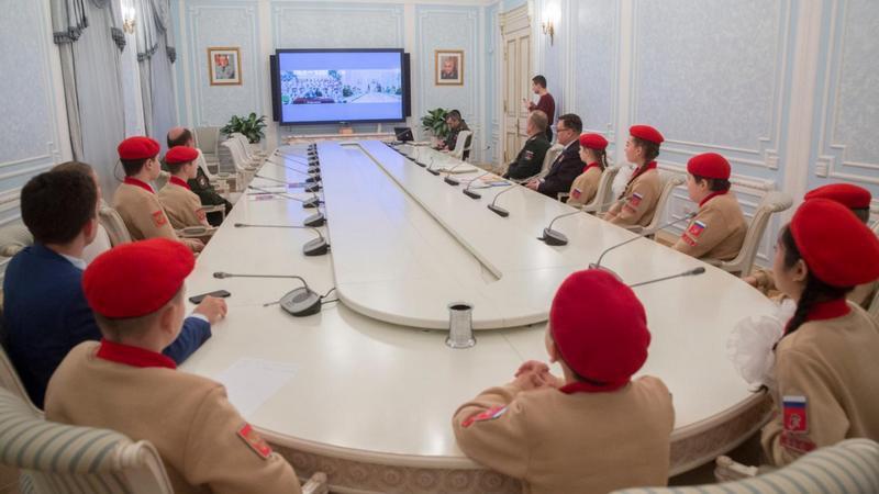 Телемост между столичным Домом «ЮНАРМИИ» и владикавказским.
