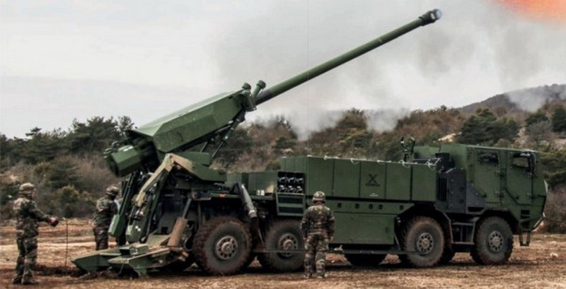 На шведском полигоне в Карлслога прошли первые стрельбы самоходной 155-мм гаубицы CAESAR 8×8 для датской армии.