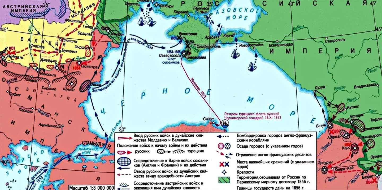 Крымская война.