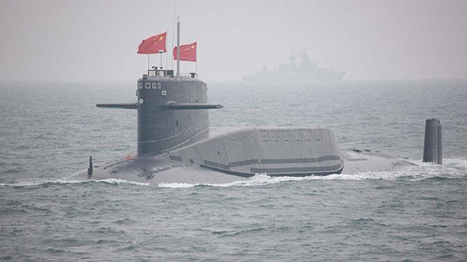 Китайская атомная подлодка.