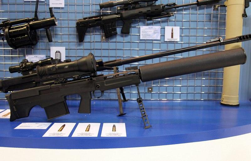Крупнокалиберная снайперская винтовка ВССК «Выхлоп».