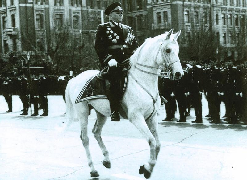 Маршал Советского Союза А.И. Ерёменко.