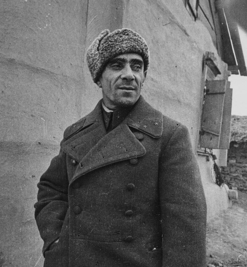 Командующий 51-й армией генерал-майор Н.И. Труфанов.