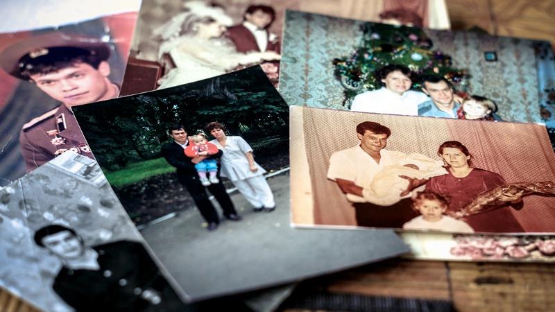 Довоенные фотографии семьи.