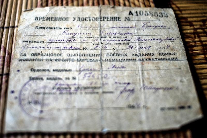Владимир Брехунец прошёл с боями Болгарию, в 1944 году был награждён орденом Красной Звезды.