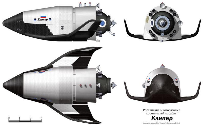 Космический корабль многоразового использования «Клипер».