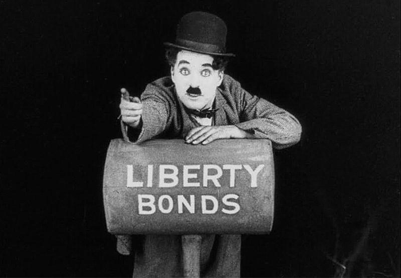Чарли Чаплин снял специальную агитационную короткометражку под названием «Облигация».