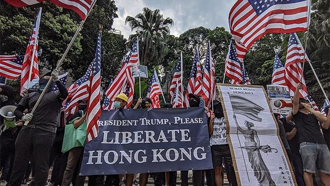 Гуманитарное вмешательство и «лица протестов в Гонконге»