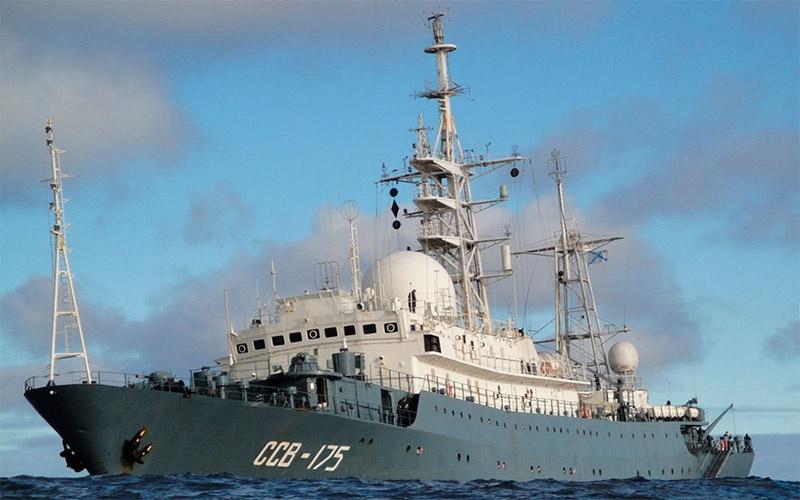 «Виктор Леонов» - средний разведывательный корабль проекта 864.