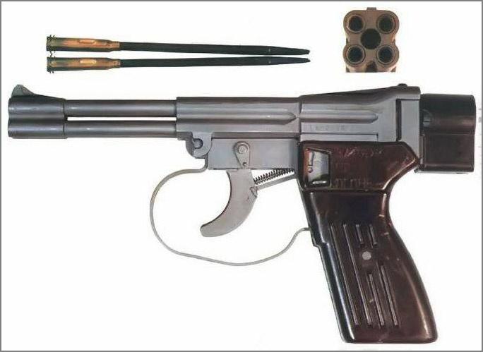 Четырёхствольный пистолет СПП-1.