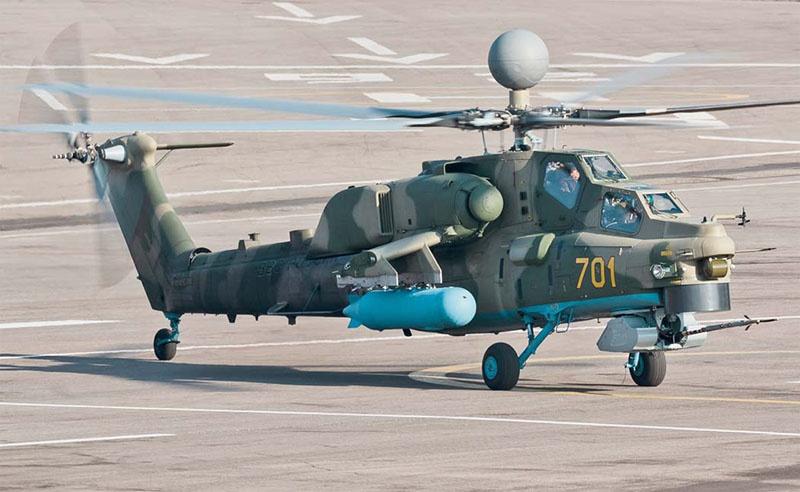 Вертолет Ми-28НМ «Ночной охотник».