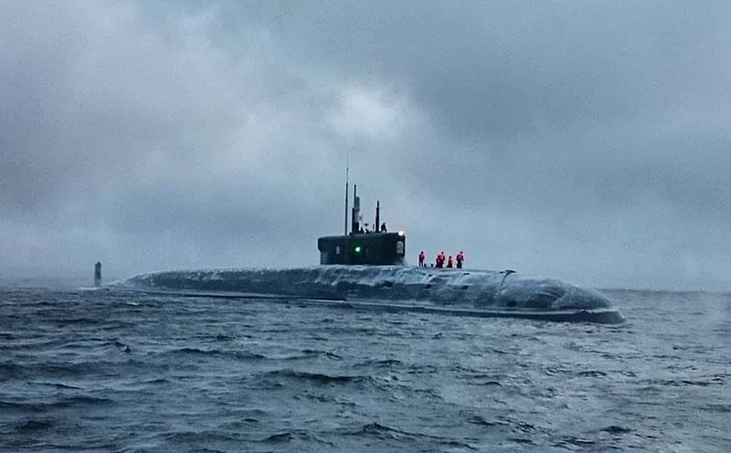 30 октября 2019 АПЛ «Князь Владимир» испытали на стрельбу «главным калибром» из подводного положения.