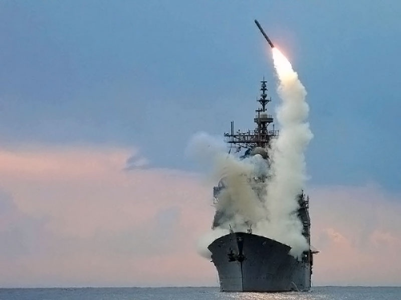 Крылатые ракеты Tomahawk (Block IV) стоят на вооружении флотов США и Великобритании.