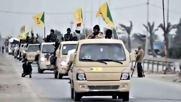 Группировка «Кятаиб Хизболла» давно провозгласила иранского аятоллу Али Хаменеи своим духовным лидером.