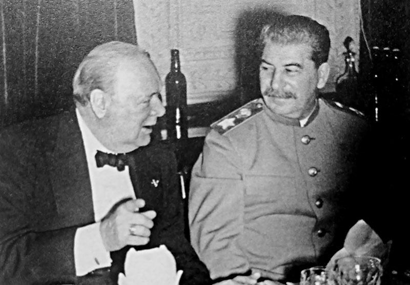 Черчилль в ходе Тегеранской встречи Большой Тройки предупреждал Сталина о наличии в Генштабе Красной Армии агента Абвера…
