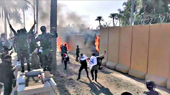 Стихийные события вокруг посольства США в Багдаде не были инициативой ни со стороны Ирана, ни со стороны Хезболлы.