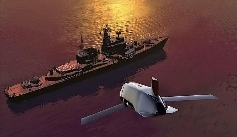 Новейшая дальнобойная крылатая ракета LRASM.
