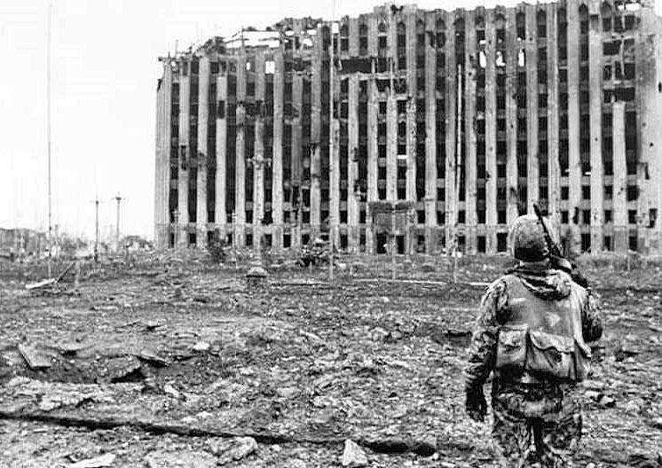 19 января президентский дворец в центре Грозного был захвачен.