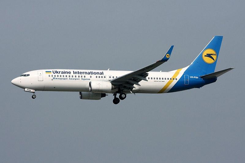 Boeing-737 компании «Международные линии Украины».