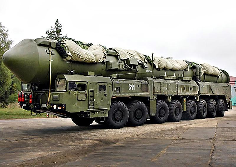 Межконтинентальная ракета «Ярс».