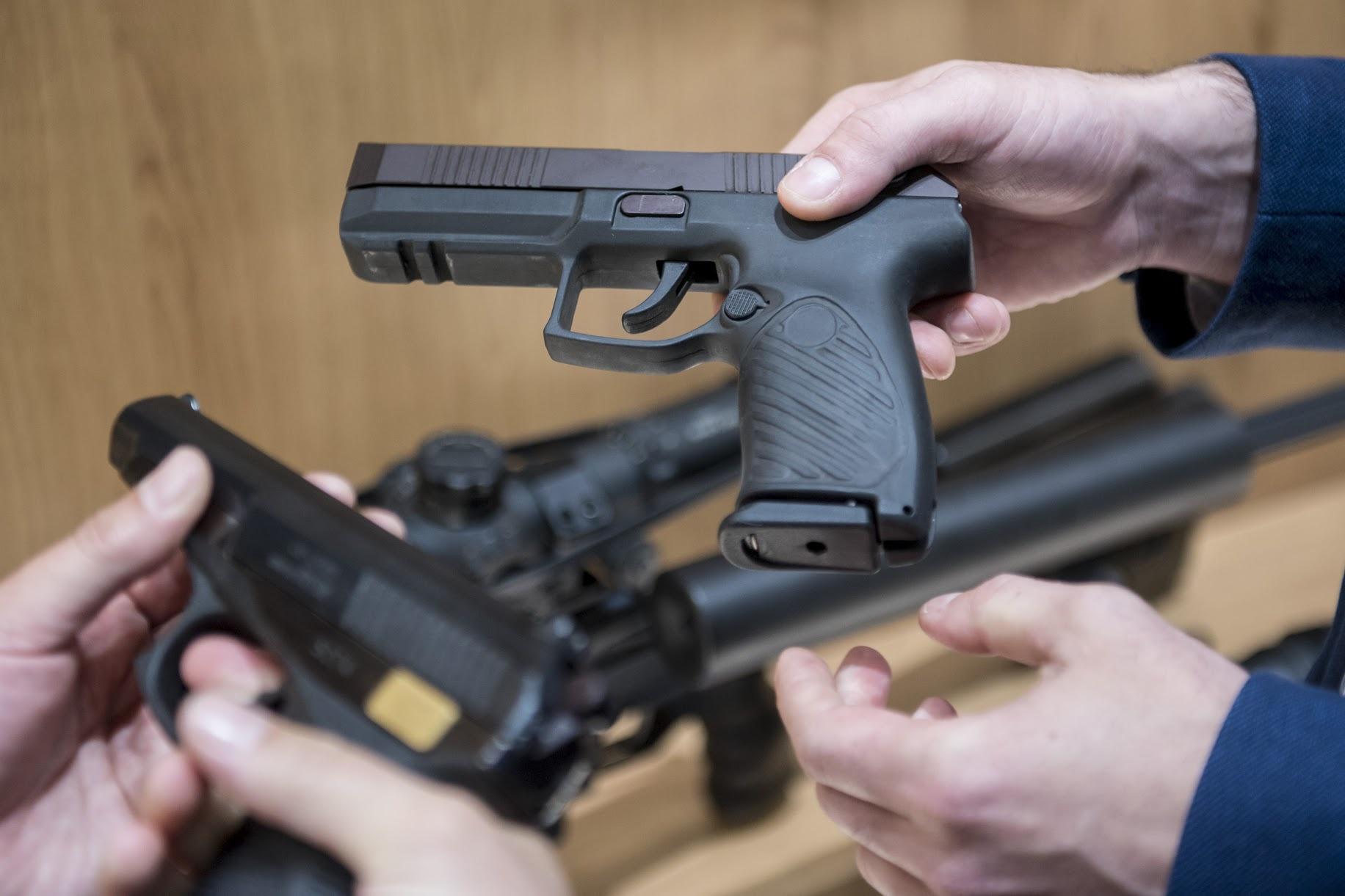 Пистолеты «Удав», которые сменят привычные ПМ.
