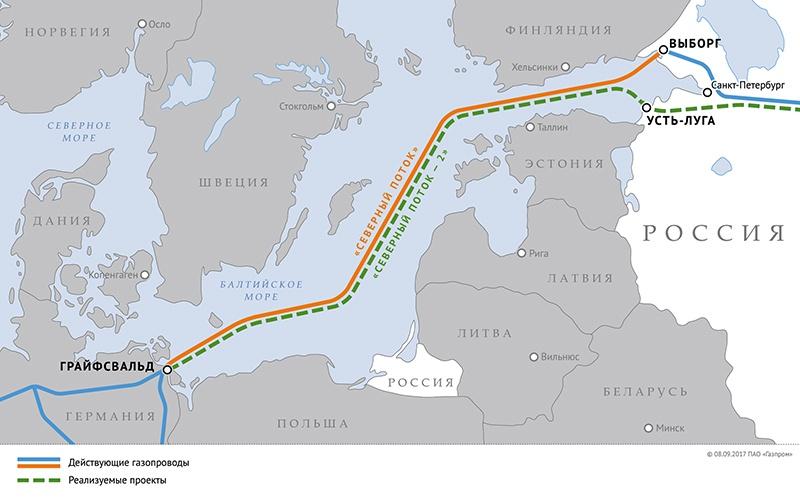 Именно «Северный поток-2» является сегодня камнем преткновения, объединяющим Россию и Германию в противостоянии США.