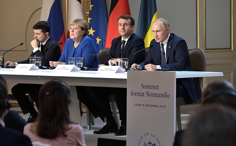 Саммит «нормандской четвёрки» в Париже поставил вопросы, на которые должен ответить Киев.