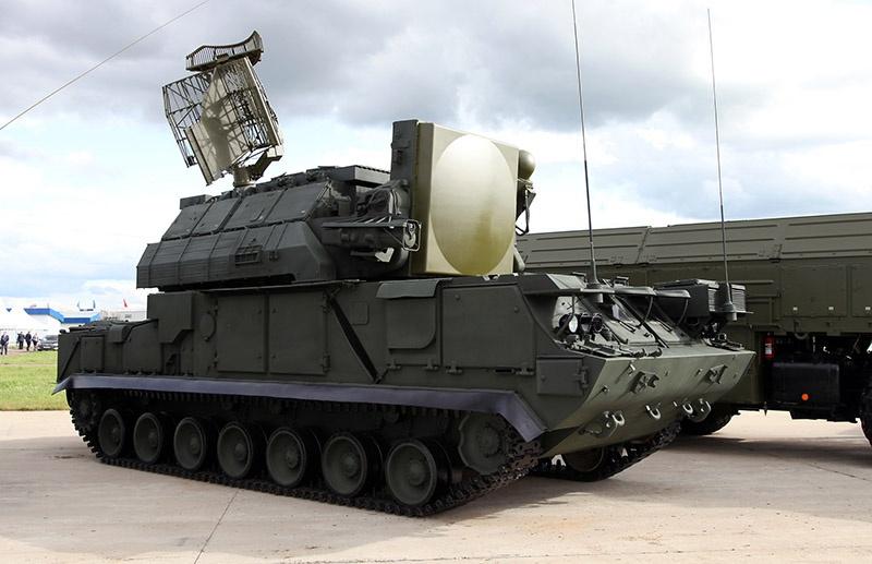 ЗРК «Тор-М1» российского производства.