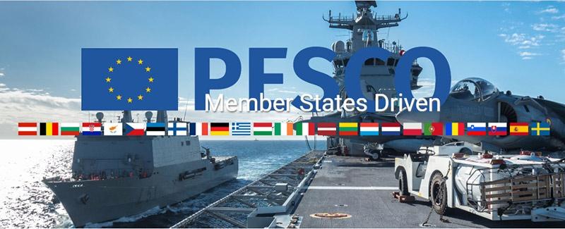 Программа PESCO объединяет 25 стран Евросоюза.
