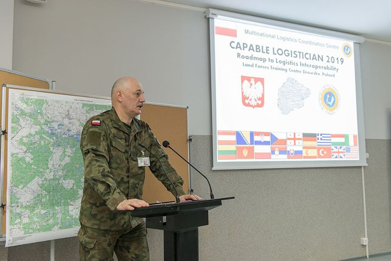 Недавние учения НАТО в Польше «Capable Logistician-2019».