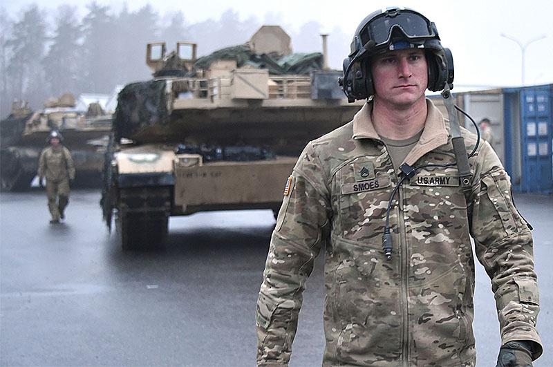 Перевалочной базой для американского контингента будет полигон Берген-Хоне в Люнебургской пустоши.