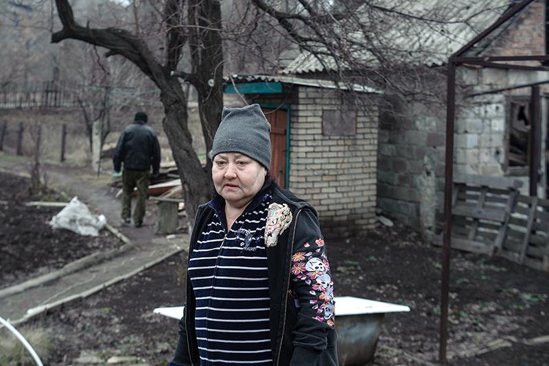 Женщина давшая кров соседу.