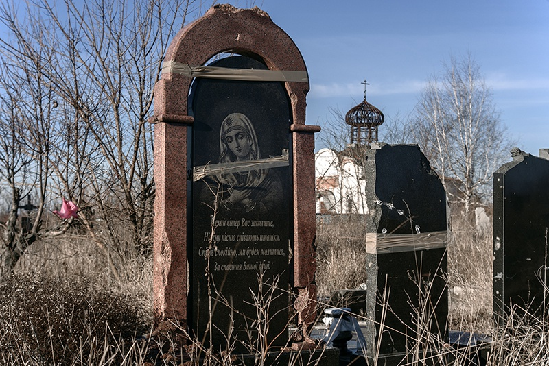 Многострадальное кладбище у Иверского монастыря.