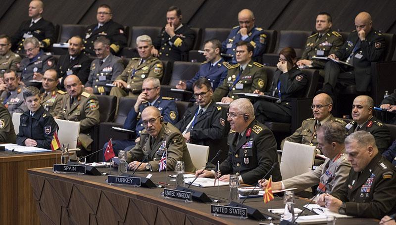 Заседание Военного комитета НАТО в Брюсселе 14-15 января.