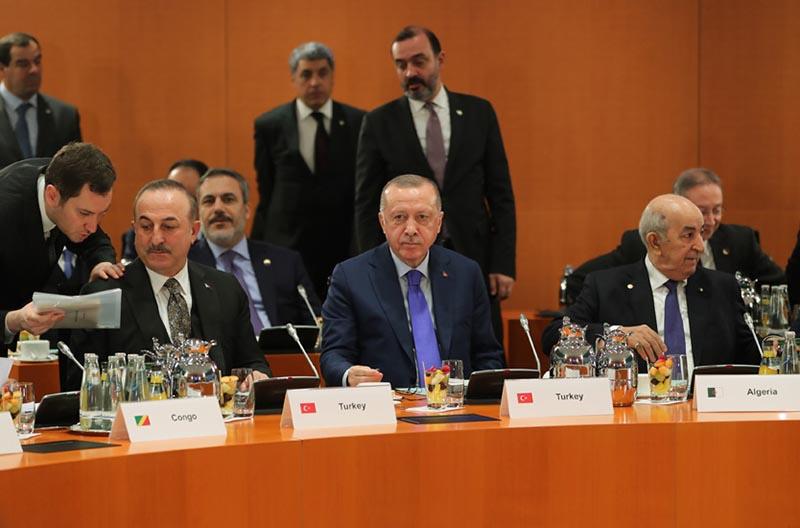 Участники Берлинской конференции отказались поддержать Эрдогана, намеревающегося осуществить военное вмешательство в Ливию.