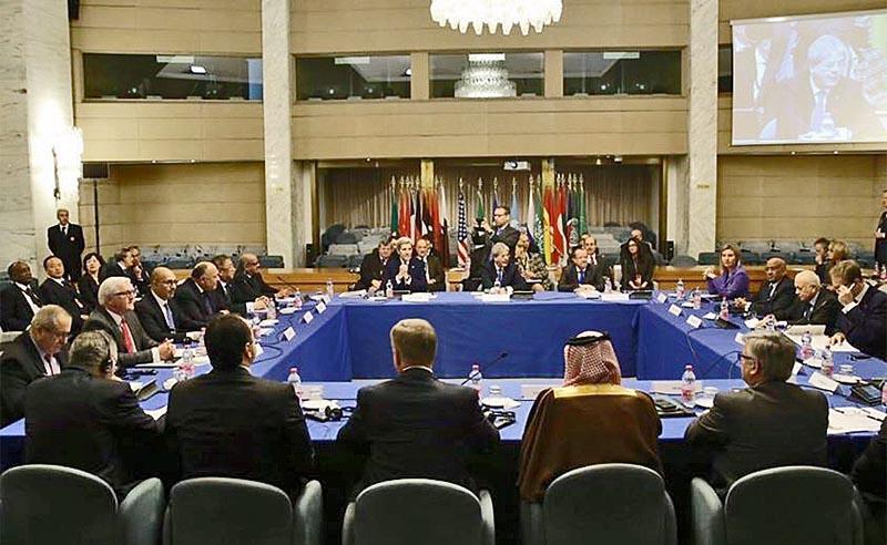 Конференция по ливийской проблеме в Риме в 2015 году: результаты оказались почти нулевыми.