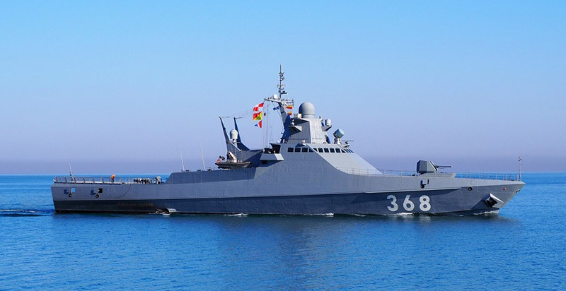 Головной патрульный корабль проекта 22160 «Василий Быков».