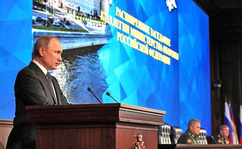 Президент Владимир Путин на расширенной коллегии Министерства обороны РФ поставил задачу разработать план обороны страны на 2021-2025 годы.