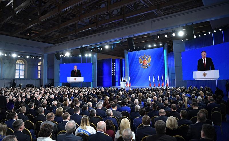 Владимир Путин Федеральному Собранию: «Обороноспособность страны обеспечена на десятилетия».