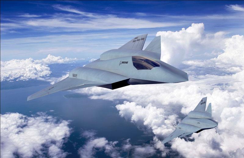 Перспективный палубный самолёт F/A-XX должен заменить устаревающий F/A-18 Super Hornet.