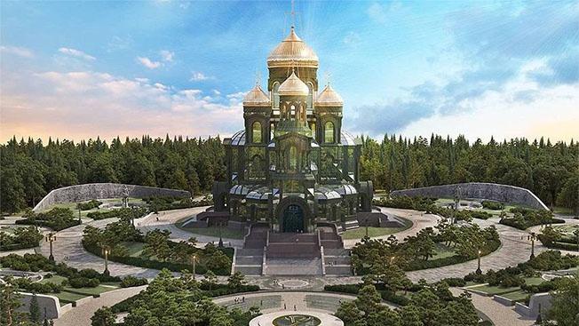 «Дорога памяти». Глубинный символизм Храма в Кубинке
