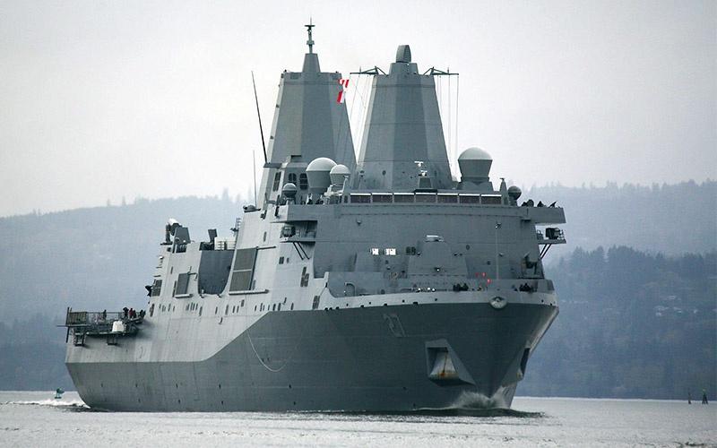 Десантный транспортный док «Портленд» (USS Portland, LPD-27).